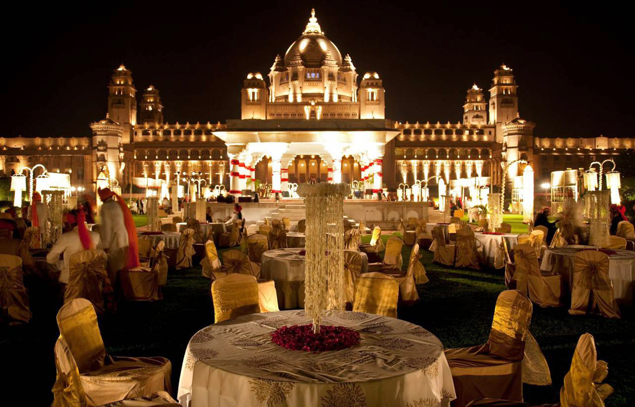 Palace wedding jaipur weddings for Front royal wedding venues